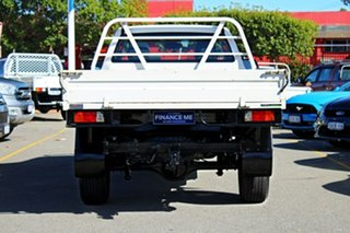 2015 Mazda BT-50 UP0YF1 XT White 6 Speed Manual Cab Chassis