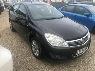 2008 Holden Astra AH CD Black 4 Speed Automatic Hatchback.
