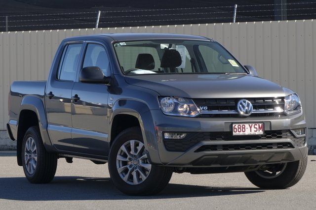 Demo Volkswagen Amarok 2H MY19 TDI550 4MOTION Perm Core, 2018 Volkswagen Amarok 2H MY19 TDI550 4MOTION Perm Core Indium Grey 8 Speed Automatic Utility