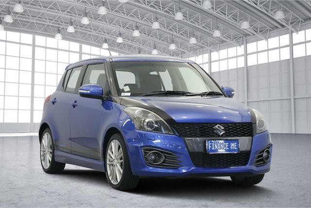Used Suzuki Swift FZ Sport, 2012 Suzuki Swift FZ Sport Blue 6 Speed Manual Hatchback