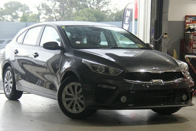 New Kia Cerato BD MY19 S, 2019 Kia Cerato BD MY19 S Platinum Graphite 6 Speed Sports Automatic Hatchback