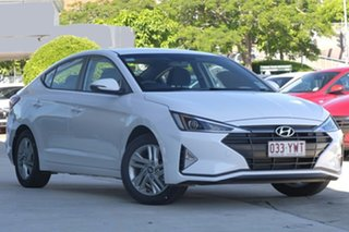 2018 Hyundai Elantra AD.2 MY19 Active Polar White 6 Speed Sports Automatic Sedan.
