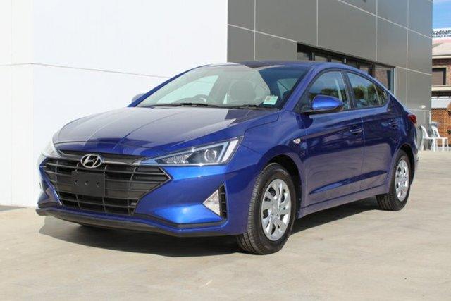 New Hyundai Elantra AD.2 MY19 Go, 2018 Hyundai Elantra AD.2 MY19 Go Intense Blue 6 Speed Manual Sedan