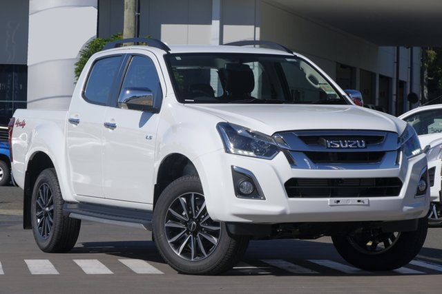 New Isuzu D-MAX MY19 LS-T Crew Cab, 2019 Isuzu D-MAX MY19 LS-T Crew Cab Splash White 6 Speed Sports Automatic Utility