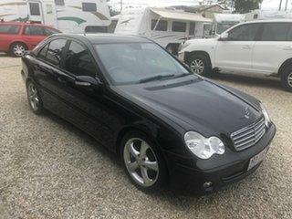 2005 Mercedes-Benz C180 W203 Classic Black 5 Speed Automatic Sedan
