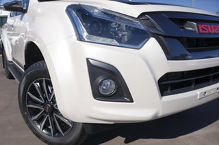 2019 Isuzu D-MAX MY19 X-Runner Crew Cab Silky White 6 Speed Sports Automatic Utility.
