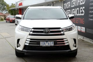 2018 Toyota Kluger GSU55R Grande AWD Crystal Pearl 8 Speed Sports Automatic Wagon