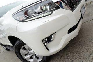 2018 Toyota Landcruiser Prado GDJ150R GXL Crystal Pearl 6 Speed Sports Automatic Wagon.