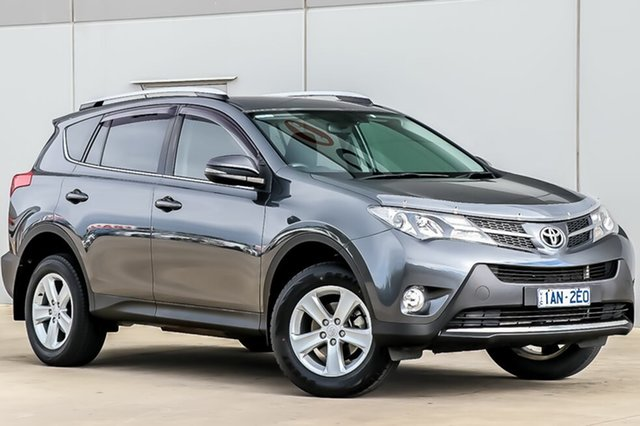 Used Toyota RAV4 ZSA42R MY14 GXL 2WD, 2014 Toyota RAV4 ZSA42R MY14 GXL 2WD Graphite 7 Speed Constant Variable Wagon