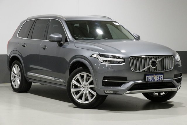 Used Volvo XC90 256 MY17 D5 Inscription, 2016 Volvo XC90 256 MY17 D5 Inscription Titanium Grey 8 Speed Automatic Geartronic Wagon