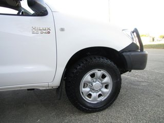 2008 Toyota Hilux KUN26R MY09 SR White 5 Speed Manual Cab Chassis
