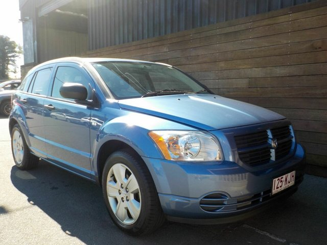 Used Dodge Caliber PM ST, 2007 Dodge Caliber PM ST Blue 5 Speed Manual Hatchback