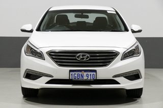 2016 Hyundai Sonata LF3 MY17 Active White 6 Speed Automatic Sedan.