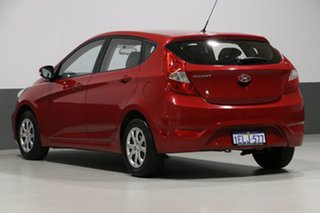 2014 Hyundai Accent RB2 MY15 Active Red 4 Speed Automatic Hatchback