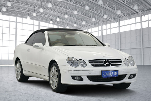 Used Mercedes-Benz CLK350 C209 MY06 Elegance, 2006 Mercedes-Benz CLK350 C209 MY06 Elegance White 7 Speed Sports Automatic Coupe