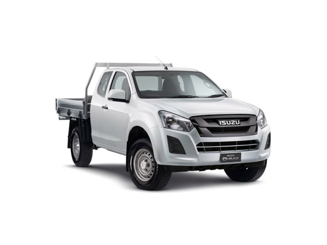 Demo Isuzu D-MAX MY19 SX Space Cab, 2019 Isuzu D-MAX MY19 SX Space Cab Splash White 6 Speed Sports Automatic Cab Chassis