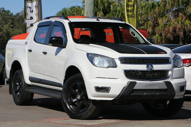 Used Holden Colorado RG MY16 Z71 Crew Cab, 2016 Holden Colorado RG MY16 Z71 Crew Cab White 6 Speed Sports Automatic Utility