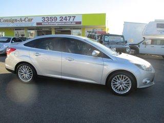 2011 Ford Focus LW Sport PwrShift Silver 6 Speed Sports Automatic Dual Clutch Sedan.