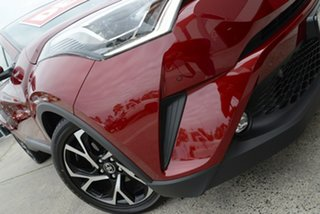 2018 Toyota C-HR NGX10R Koba S-CVT 2WD Atomic Rush 7 Speed Constant Variable Wagon.