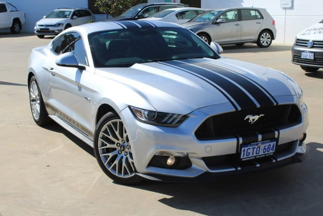 Used Ford Mustang FM GT Fastback, 2016 Ford Mustang FM GT Fastback Billet Silver 6 Speed Manual Fastback