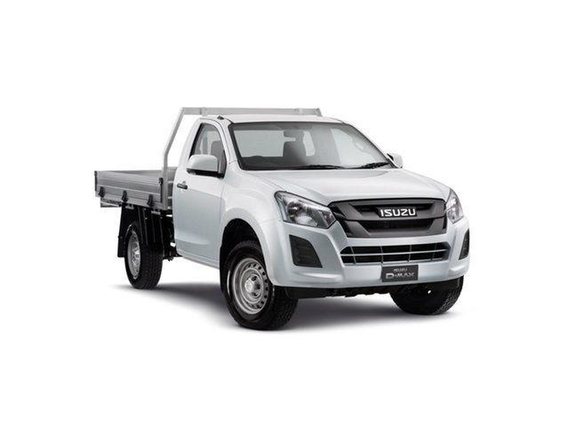 New Isuzu D-MAX MY19 SX 4x2, 2019 Isuzu D-MAX MY19 SX 4x2 Splash White 6 Speed Manual Cab Chassis