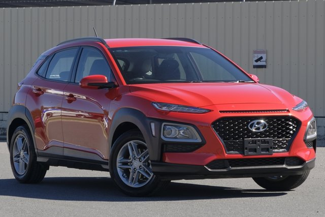 Used Hyundai Kona OS MY18 Active 2WD, 2018 Hyundai Kona OS MY18 Active 2WD Orange 6 Speed Sports Automatic Wagon