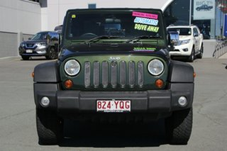 2010 Jeep Wrangler JK MY2010 Sport Green 4 Speed Automatic Softtop
