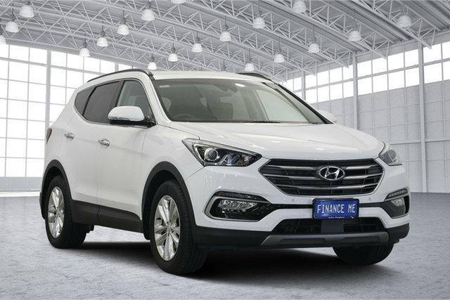 Used Hyundai Santa Fe DM5 MY18 Elite, 2018 Hyundai Santa Fe DM5 MY18 Elite White 6 Speed Sports Automatic Wagon