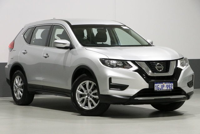 Used Nissan X-Trail T32 ST 7 Seat (FWD), 2017 Nissan X-Trail T32 ST 7 Seat (FWD) Silver Continuous Variable Wagon
