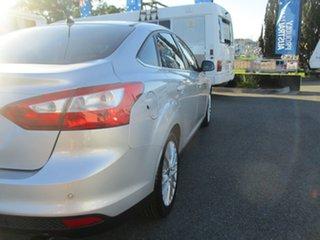 2011 Ford Focus LW Sport PwrShift Silver 6 Speed Sports Automatic Dual Clutch Sedan
