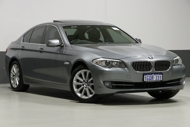 Used BMW 520i F10 MY12 , 2012 BMW 520i F10 MY12 Grey 8 Speed Automatic Sedan