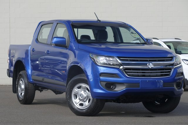 New Holden Colorado RG MY20 LS Pickup Crew Cab, 2020 Holden Colorado RG MY20 LS Pickup Crew Cab Power Blue 6 Speed Sports Automatic Utility