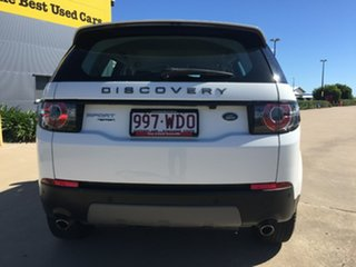2015 Land Rover Discovery Sport L550 16MY Td4 SE White 9 Speed Sports Automatic Wagon