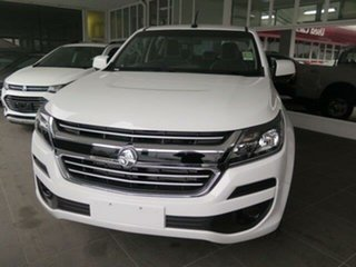 2018 Holden Colorado RG MY19 LS Pickup Crew Cab Nitrate Silver 6 Speed Sports Automatic Utility.