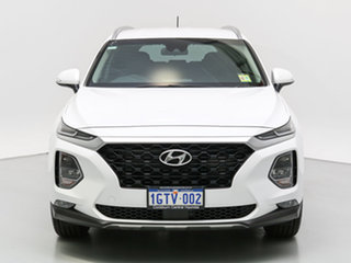 2019 Hyundai Santa Fe TM Active CRDi (AWD) White Cream 8 Speed Automatic Wagon.
