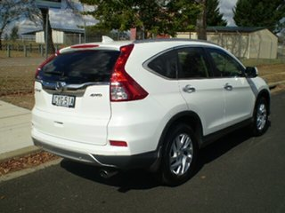 2015 Honda CR-V RM Series II MY16 VTi-S 4WD Taffeta White 5 Speed Sports Automatic Wagon