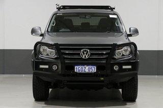 2013 Volkswagen Amarok 2H MY13 TDI400 Highline (4x4) Grey 6 Speed Manual Dual Cab Utility.