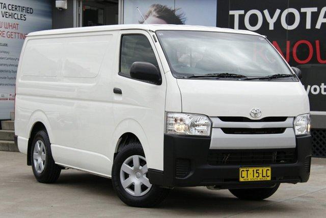 Used Toyota HiAce TRH201R MY15 LWB, 2016 Toyota HiAce TRH201R MY15 LWB White 6 Speed Automatic Van