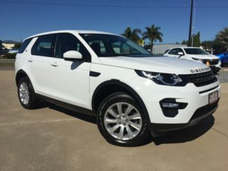 2015 Land Rover Discovery Sport L550 16MY Td4 SE White 9 Speed Sports Automatic Wagon.