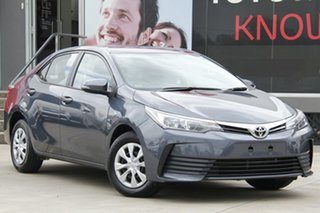 2017 Toyota Corolla ZRE172R Ascent Grey 7 Speed CVT Auto Sequential Sedan.