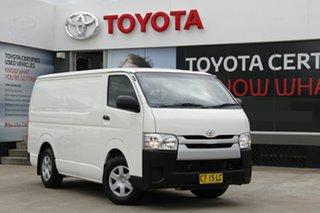 2016 Toyota HiAce TRH201R MY15 LWB White 6 Speed Automatic Van.