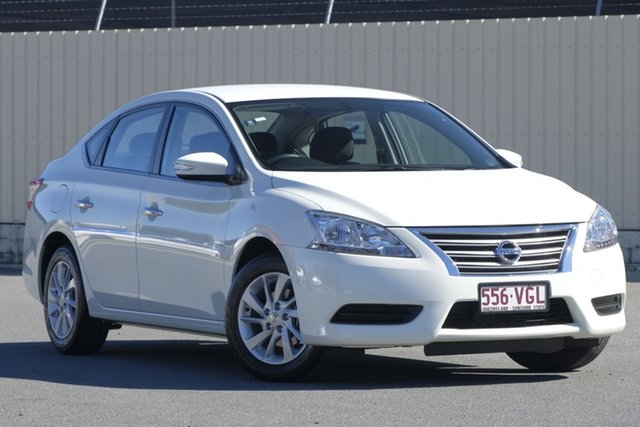 Used Nissan Pulsar B17 ST, 2014 Nissan Pulsar B17 ST White Diamond 1 Speed Constant Variable Sedan