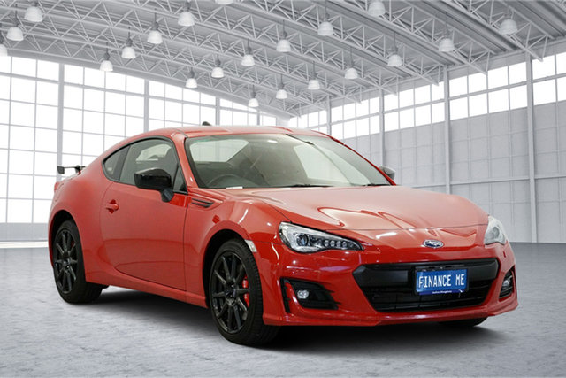 Used Subaru BRZ Z1 MY17 , 2016 Subaru BRZ Z1 MY17 Pure Red 6 Speed Sports Automatic Coupe