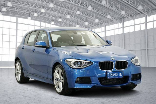 Used BMW 125i F20 MY0713 M Sport, 2014 BMW 125i F20 MY0713 M Sport Blue 8 Speed Sports Automatic Hatchback