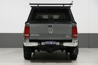 2013 Volkswagen Amarok 2H MY13 TDI400 Highline (4x4) Grey 6 Speed Manual Dual Cab Utility