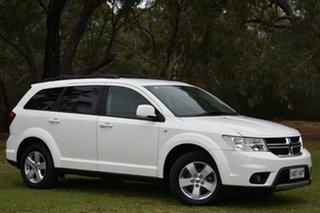 2012 Dodge Journey JC MY13 SXT White 6 Speed Automatic Wagon.