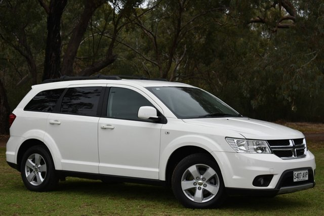 Used Dodge Journey JC MY13 SXT, 2012 Dodge Journey JC MY13 SXT White 6 Speed Automatic Wagon