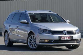 2014 Volkswagen Passat Type 3C MY14.5 130TDI DSG Highline Silver 6 Speed.