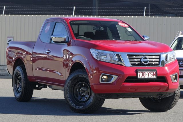 Demo Nissan Navara D23 S3 RX King Cab, 2018 Nissan Navara D23 S3 RX King Cab Burning Red 6 Speed Manual Utility