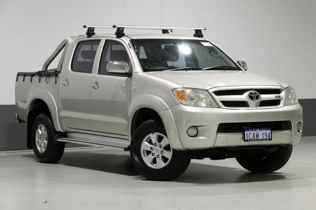 Used Toyota Hilux GGN25R SR5 (4x4), 2005 Toyota Hilux GGN25R SR5 (4x4) Silver 5 Speed Automatic Dual Cab Pick-up